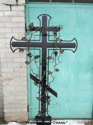 Кованый крест №37 — фото