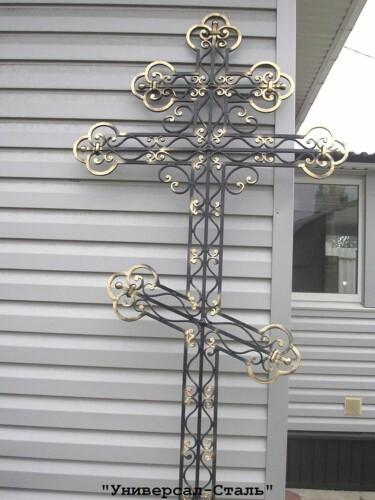 Кованый крест №38 — фото