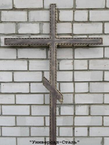 Кованый крест №39 — фото