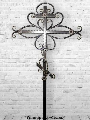 Кованый крест №4 — фото