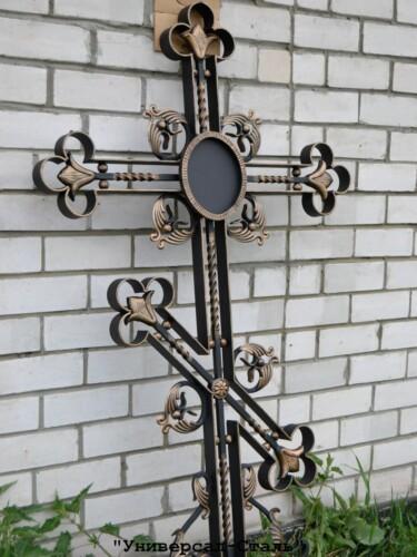 Кованый крест №40 — фото