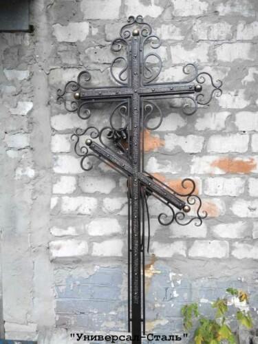 Кованый крест №41 — фото