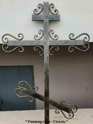 Кованый крест №42 — фото