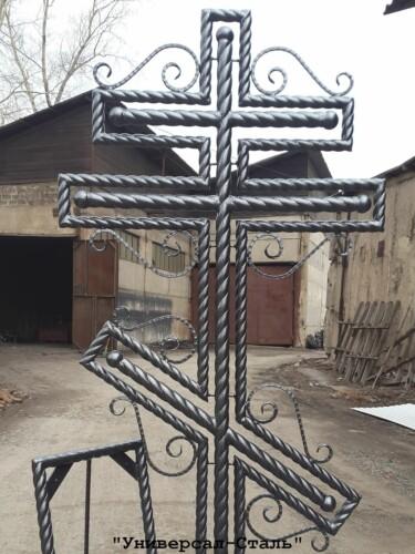 Кованый крест №45 — фото