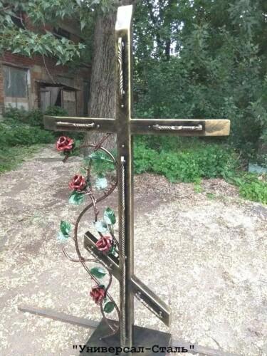 Кованый крест №46 — фото