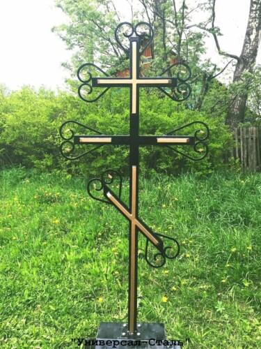 Кованый крест №47 — фото