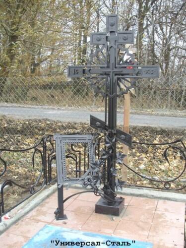 Кованый крест №48 — фото