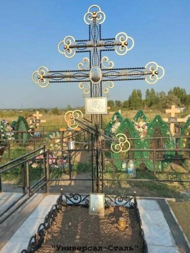 Кованый крест №49 — фото