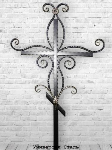 Кованый крест №5 — фото
