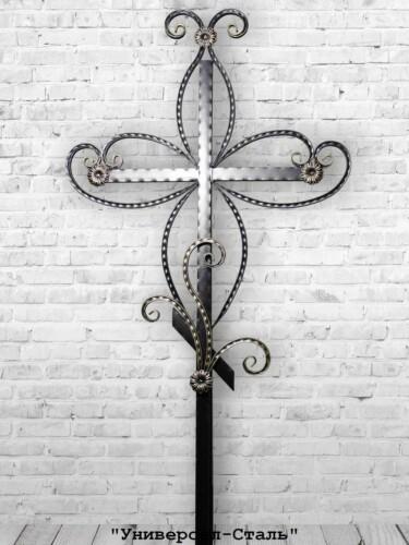 Кованый крест №6 — фото