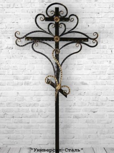 Кованый крест №9 — фото
