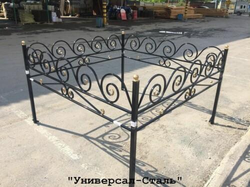 Кованая ограда №109 — фото