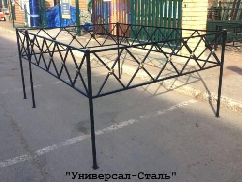 Кованая ограда №110 — фото