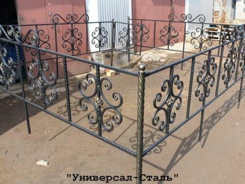 Кованая ограда №118 — фото