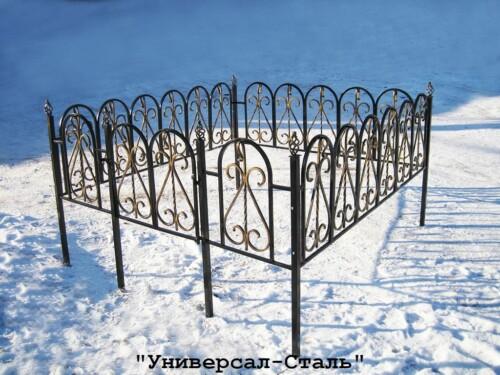 Кованая ограда №12 — фото