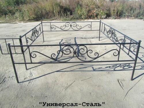Кованая ограда №123 — фото