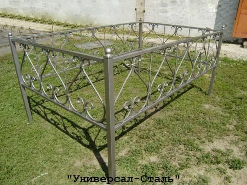 Кованая ограда №131 — фото