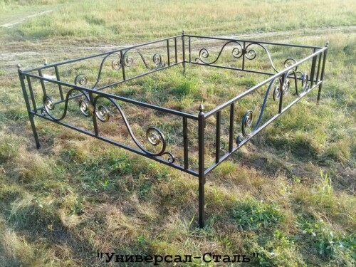 Кованая ограда №133 — фото