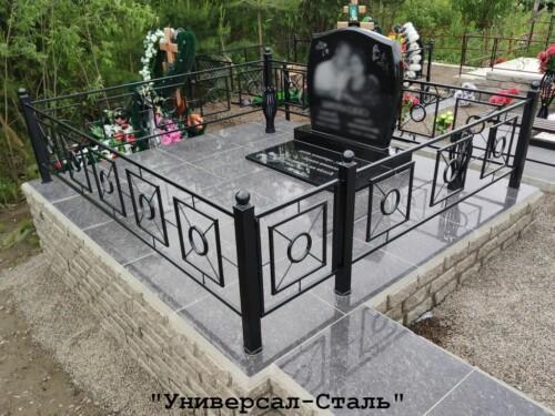 Кованая ограда №137 — фото