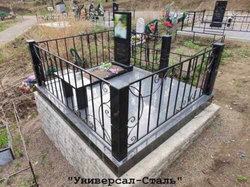 Кованая ограда №141 — фото