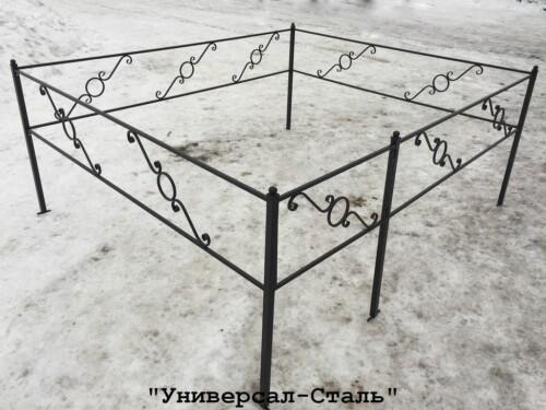 Кованая ограда №18 — фото
