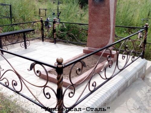 Кованая ограда №180 — фото