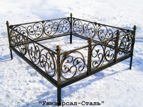 Кованая ограда №2 — фото