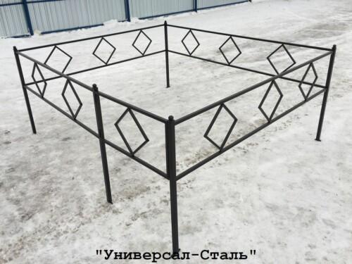 Кованая ограда №20 — фото