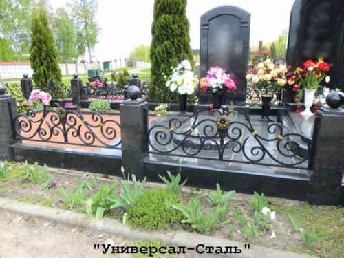 Кованая ограда №201 — фото