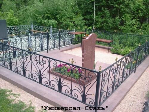 Кованая ограда №204 — фото