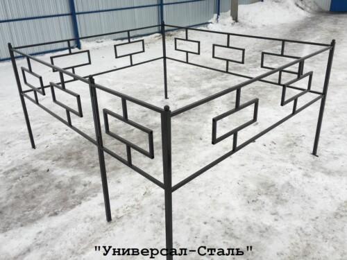 Кованая ограда №22 — фото