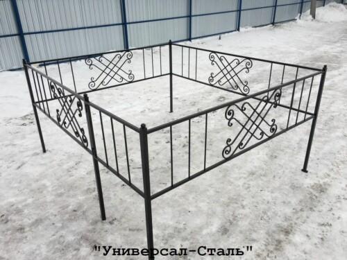 Кованая ограда №24 — фото