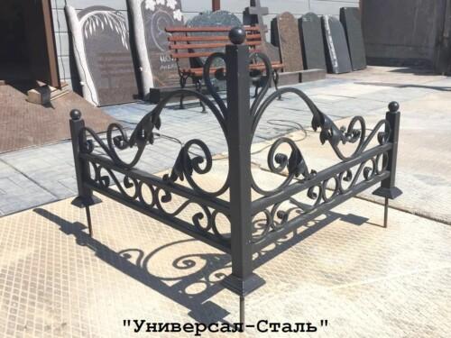 Кованая ограда №248 — фото