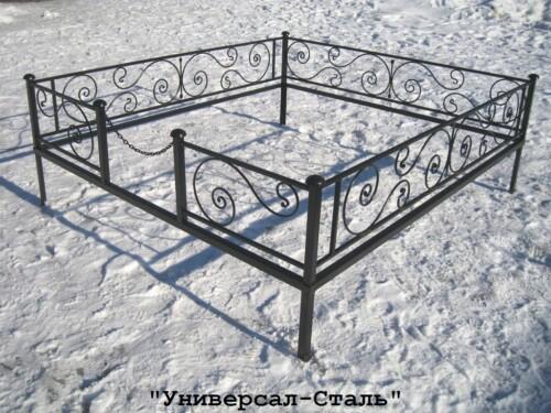 Кованая ограда №25 — фото