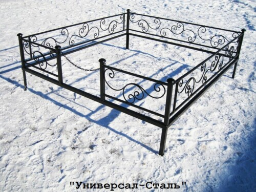 Кованая ограда №29 — фото