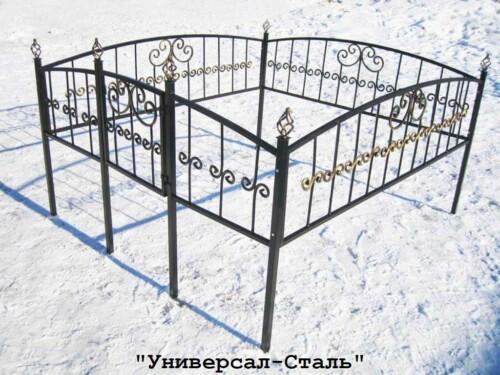 Кованая ограда №32 — фото