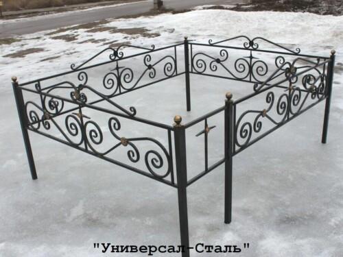 Кованая ограда №34 — фото
