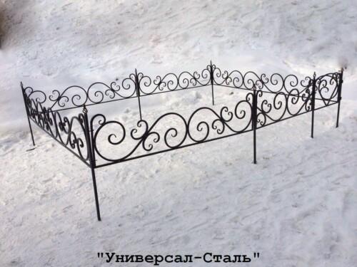 Кованая ограда №39 — фото