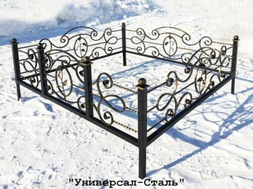 Кованая ограда №4 — фото