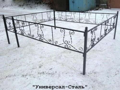 Кованая ограда №41 — фото