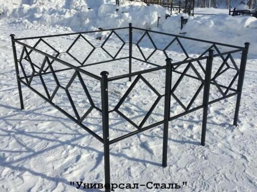 Кованая ограда №42 — фото