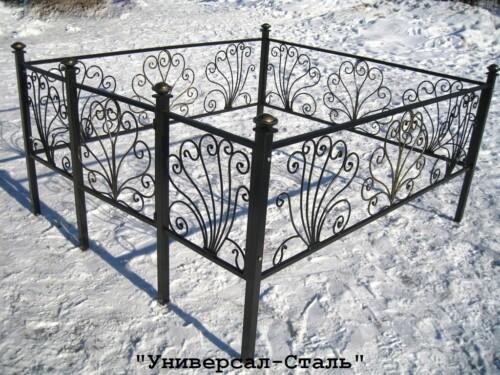 Кованая ограда №43 — фото