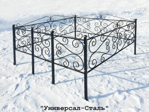 Кованая ограда №50 — фото