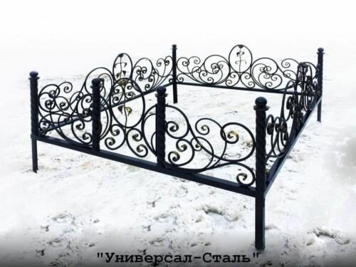 Кованая ограда №56 — фото