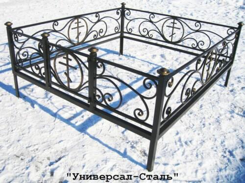 Кованая ограда №7 — фото