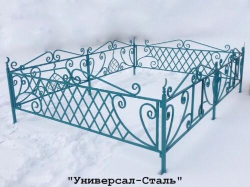 Кованая ограда №71 — фото