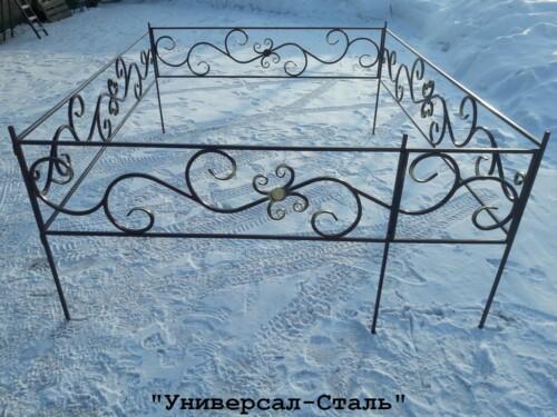 Кованая ограда №78 — фото
