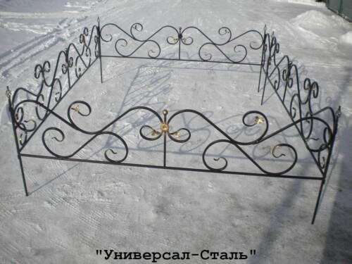 Кованая ограда №79 — фото