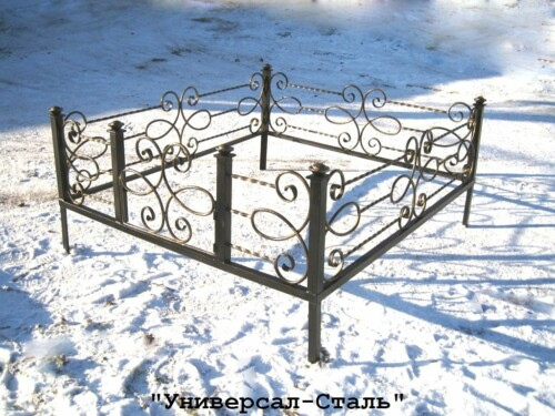 Кованая ограда №8 — фото