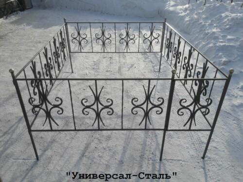 Кованая ограда №82 — фото